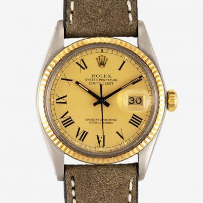Rolex Datejust Buckley Yellow