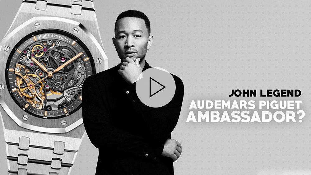 John Legend's Audemars Piguet Watch Collection