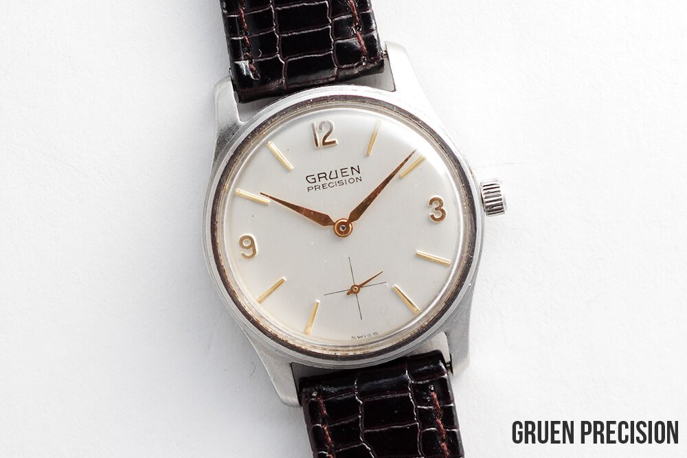 gruen precision vintage watches. Black Bedroom Furniture Sets. Home Design Ideas