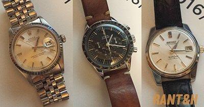 RANT&H: Rolex Datejust, Omega Speedmaster, Grand Seiko